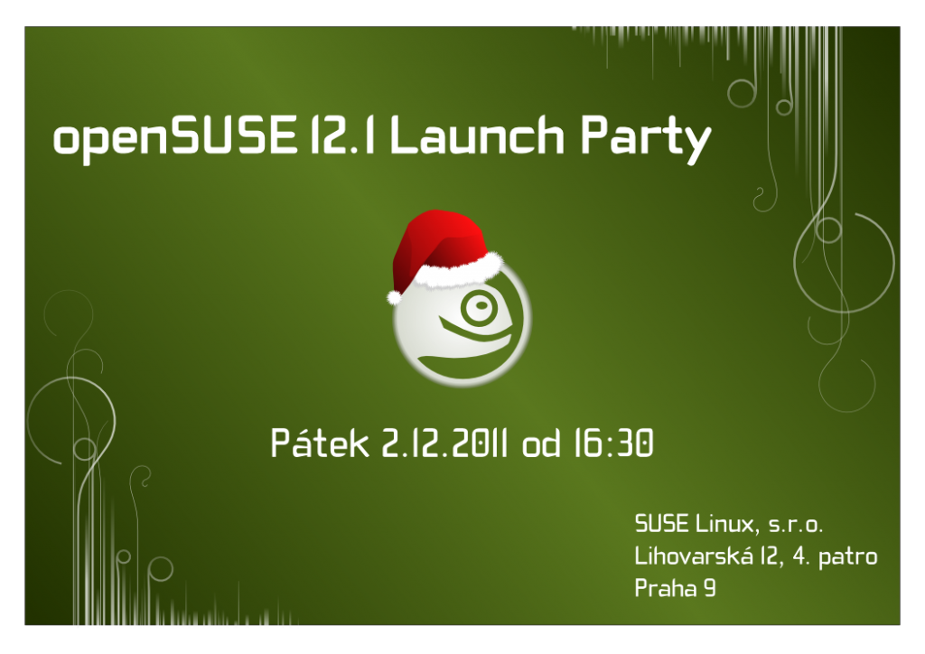 12.1 Launch Party poster